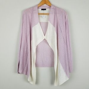 The Limited NWT Colorblock Open Cardigan A0702